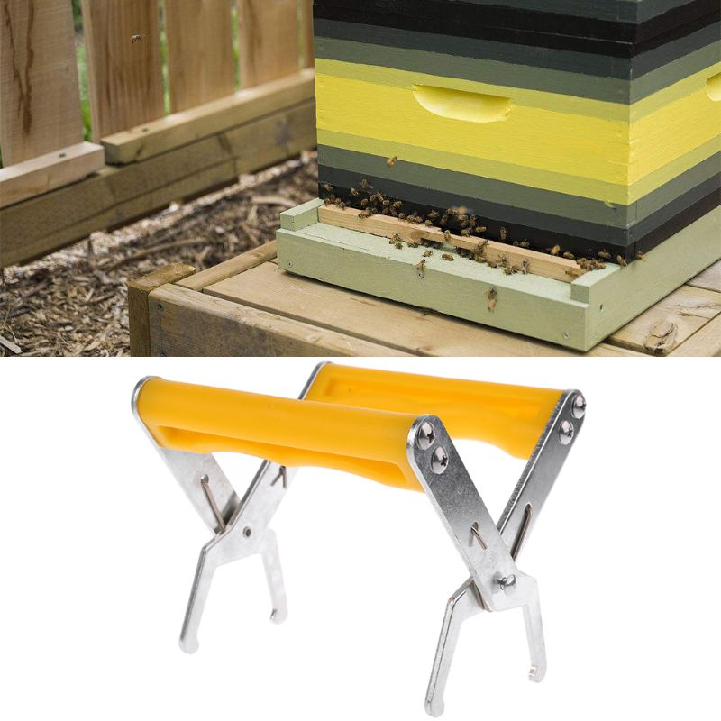 Bee Frames Grip Tool for Beekeeper Equipment Clamp Pick Beehive Lifter Clip