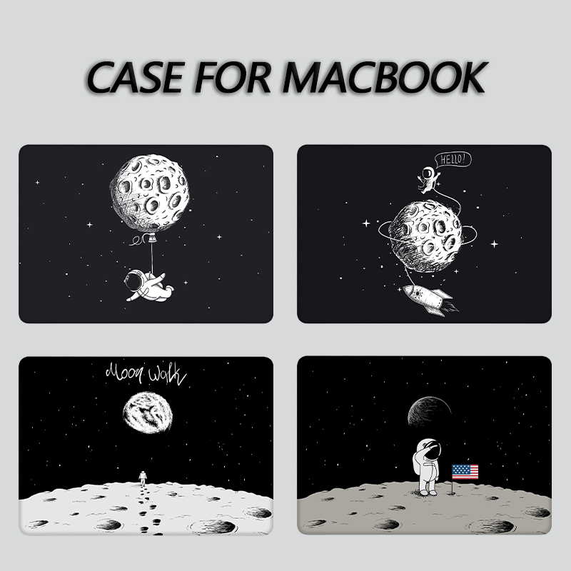 Sanmubaba <font><b>Laptop</b></font> Case For Macbook Air Pro Retina <font><b>11</b></font> 12 13 15 16 <font><b>inch</b></font> Cover With Touch Bar Cartoon Space <font><b>Laptop</b></font> <font><b>Sleeve</b></font> a2141 image