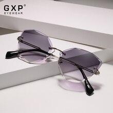 GXP Fashion Lady Sun glasses 2020 Rimless Women Sunglasses V