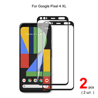 Für Google Pixel 4 XL ( Pixel4 XL) vollständige Abdeckung Aus Gehärtetem Glas Telefon Screen Protector Schutz Schutz-film 2,5 D 9H Härte