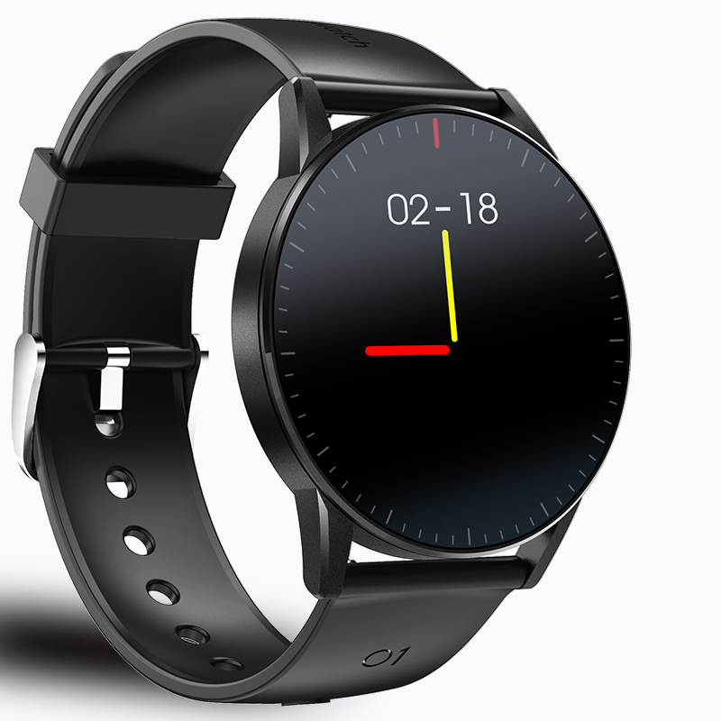Men Smartwatch IP68 Waterproof Full Touch Smart Watches Health With Heart Rate And Blood Pressure Smart Watch For Android IPhone