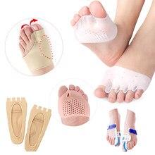 Coussinets orthèses en Silicone pour les orteils et les doigts, orthèses pour corriger les oignons, les Hallux Valgus et les pieds, outil de pédicure