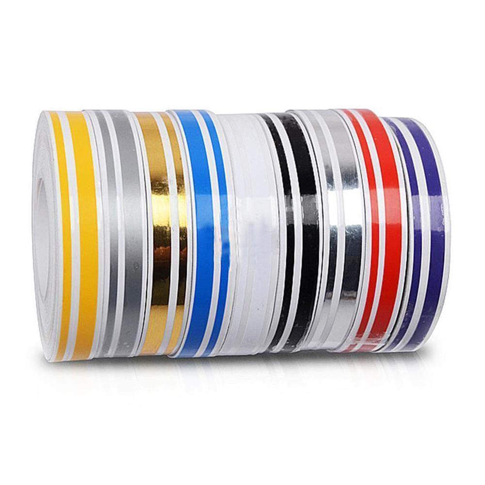 "12mm 1//2/"" PinStriping Pin Stripe Tape SOLID Line Decor Decal Vinyl Sticker BLUE"