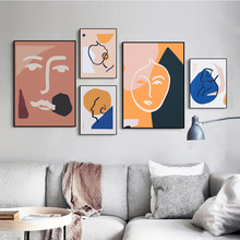 Minimalist Nordic Posters Abstract Geometry Graphic Matisse Wall Art Canvas Paintings Cuadros Pictures for Home Decoration