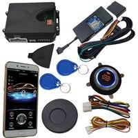 Cardot 2g gsm & gps rfid invisible auto alarm system motor-start-stop-taste remote start stop arbeits mit original auto schlüssel