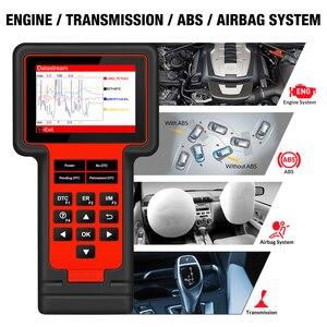 Image 2 - Thinkcar TS609 OBD2 סורק מנוע ABS SRS שידור אבחון כלי ThinkScan 609 קוד קורא סורק עם 8 איפוס פונקציה