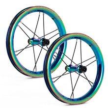 Прочность детей 12 дюймов Rockfish R8 Гальваническое хорошее баланс велосипедов Колесная