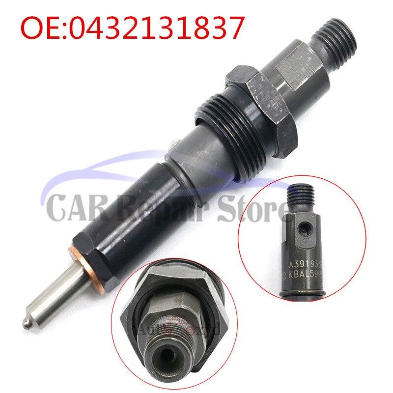 6X 6BT 50hp Fuel Injectors 0432131837 For 1989-93 First Gen Dodge Cummins 5.9L