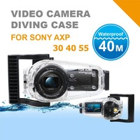 Diving Photography Waterproof Case For Sony FDR AX30 AX40 AX55 Video Camera Housing Underwater Case 40m/130FT Run Camcorder