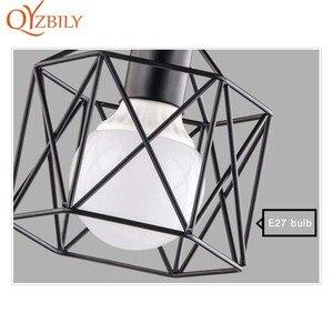 Image 4 - Потолочный светильник, железная лампа с металлическим основанием, светодиодный светильник для гостиной, комнасветильник освещение в стиле лофт и дома, Металлическая лампа с птицами для поверхностного монтажа