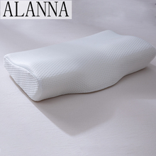 Bedding Pillow Memory-Foam Neck-Protection Shaped Alanna for 50--30cm Slow-Rebound