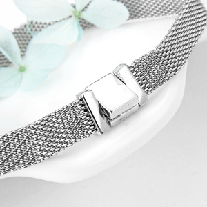 Image 5 - TOP Quality 925 Sterling Silver Clip Bead Bracelets for Women Fit Original Reflexions Bracelet charms femme Jewelry Fashion 2019