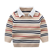 Kung Fu Ant 2019 New Arrival Casual Autumn wool Boys Sweaters for Boys O-Neck Or Turn-Down 24M Kid Baby Clothes цена 2017