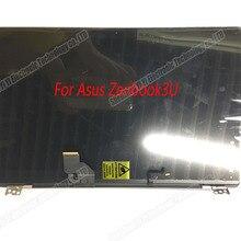 12,5 дюймов ноутбук полный ЖК-дисплей панель с рамкой верхняя половина полная сборка для ASUS ZENBOOK 3 UX390 UX390UA UX390UAK