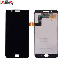 цена на For Motorola Moto G5 LCD Display Touch Screen XT1672 XT1676 LCD Screen Glass Digitizer Complete Assembly