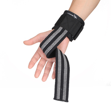 Спортивный ремень для тяжелой атлетики, защита запястья, фиксатор, противоскользящий, Deadlift, приседание, фитнес, спортивный браслет для поддержки запястья