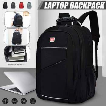Unisex Backpacks 15.6'' Laptop Backpack Large Capacity Multifunctional Waterproof Multi-layer Travel Bag Fashion Schoolbag 1