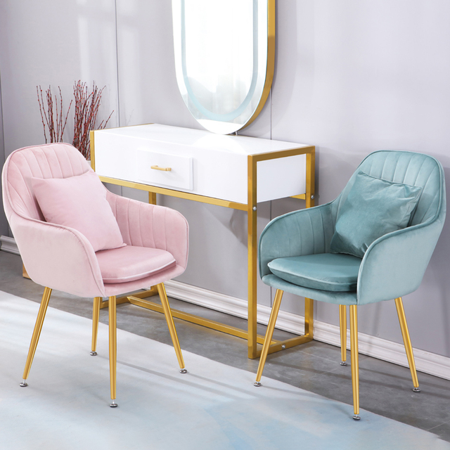 Chairs Living Room Dining Chair Kitchen Furniture Meubles Makeup Stool Desk Chair For Study Room European Chairs Home Decor 홈 가구