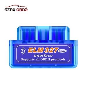 OBD2 Scanner ELM327 V2.1/V1.5 Bluetooth OBD OBD2 Diagnostic Tool For Android/Symbian Torque ELM 327 Car Accessories Code Reader