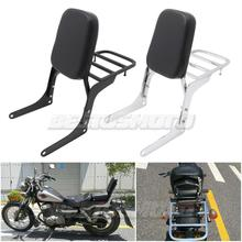 Motorcycle Detachable Rear Passenger Backrest Sissy Bar Luggage Rack For Honda Rebel 250 CMX250 CMX250C CA250