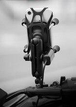 العالمي الألومنيوم دراجة نارية حامل هاتف المحمول مع شاحن يو اس بي مرآة المقود حامل هاتف جبل قوس ل 4 6.5 بوصة