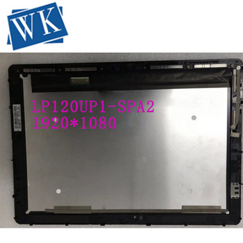 Free shipping LP120UP1 SPA2 LP120UP1-SPA5 LCD Touch Screen Digitizer Assembly For HP Spectre X2 12-AB Assembly 1920*1280