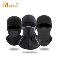Winter Motorcycle Headgear Head Wear Warm Ski Motorbike Cycling Protective Face Mask Helmet Cap Windproof Fleece Balaclava Hat
