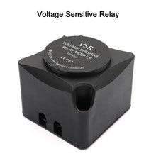Relé sensível à tensão relé de carregamento automático 125a dupla bateria isolador vsr auto acessórios