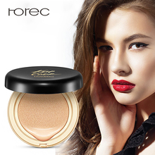 ROREC BB & CC Cream Air Cushion Tone-Correcting Face Concealer Makeup Foundation Isolation Primer Visibly Reduce Redness
