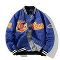 Mens Bomber Jackets Baseball Fashion Men Anorak Hip Hop Streetwear Jackets Male Casual Baseball Uniform Coats Clothing