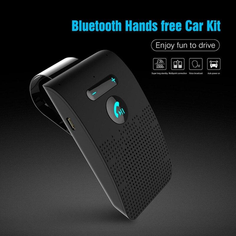 Handsfree Bluetooth Wireless Car Kit Bluetooth Speaker Phone Parasol Clip Speaker wireless bluetooth handsfree bluetooth player