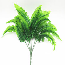 Wedding Road Guide Decoration Leaf Plant Wall Green Planting Flower Arrangement Material Simulated Fern Persian