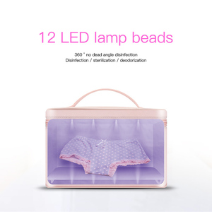 Image 3 - 59 Seconds Disinfection Kit Household Small Clothes Sterilization Bag Mobile Phone Mask Sterilizer Box LED UVC Disinfection Lamp