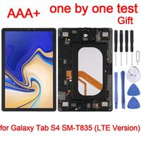 Tab S4 LCD Screen and Digitizer Full Assembly with Frame for Galaxy Tab S4 10.5 inch SM T835 (LTE Version)