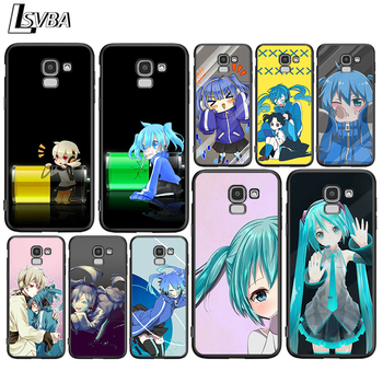 Enom Takane for Samsung Galaxy j8 j7 j6 j5 j4 j3 j2 Core Prime Star Duo Plus 2018 2017 2016 Black Phone Case image
