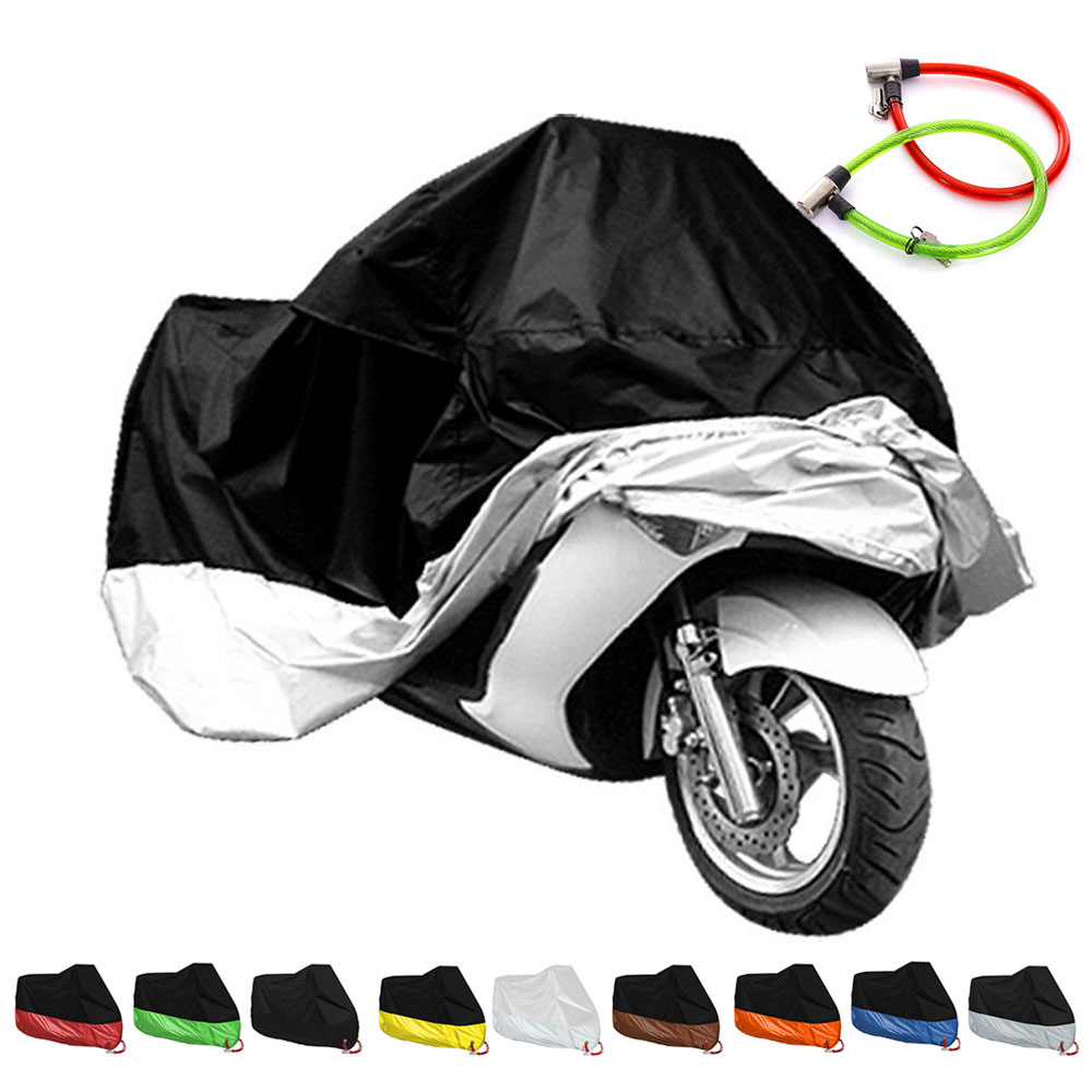FOR KAWASAKI Vulcan 1500 2000 400 500 800 900 S650 Voyager 1700 Vn900 Vn800 Vn400 Motorcycle Waterproof Dustproof Clothing Cover