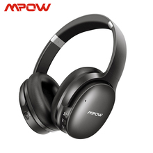 Mpow h10 cancelamento de ruído ativo bluetooth sem fio fones de ouvido 18 25 h tempo de jogo anc fone de ouvido com microfone para iphone huawei xiaomi