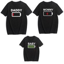 Семейные комплекты в семейном стиле для папы, для мамы, сына, дочери наряды Костюмы футболка мама для мам и дочек, одежда для мамы, папы и детей; и Me Baby футболка для девочек, для мальчиков