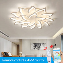LED Chandelier For Living Room Bedroom Home Modern Ceiling Light LED Ceiling Chandelier Lighting Remote Control Lights for Room