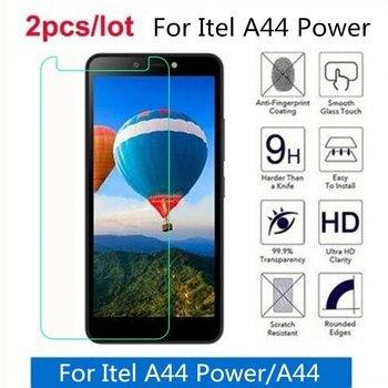 Перейти на Алиэкспресс и купить Закаленное стекло для Itel A44 Power 2.5D, Премиум Защитная пленка для Itel A44, защитная пленка, стекло