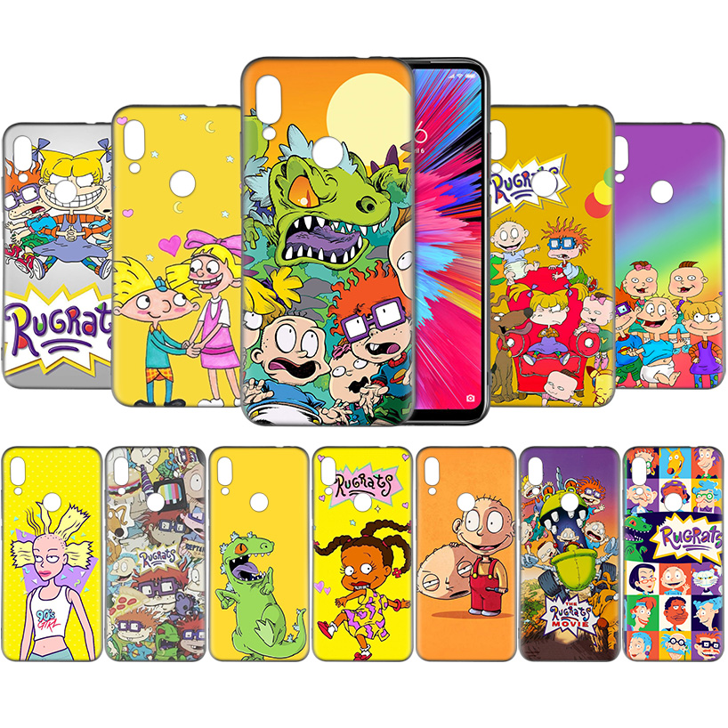 Rugrats <font><b>Amazing</b></font> Pattern Silicone Soft TPU Case Coque for Redmi 5 6 6A S2 7 7A GO Y3 K20 Plus Pro Note 4 4X 5 6 7 7S Fundas Capa image