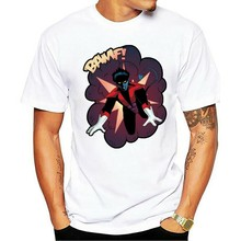 Nightcrawler T-shirt Xmen Movie Men Tee Shirt Short Sleeve S-3XL Fashion Summer Paried T Shirts Top Tee