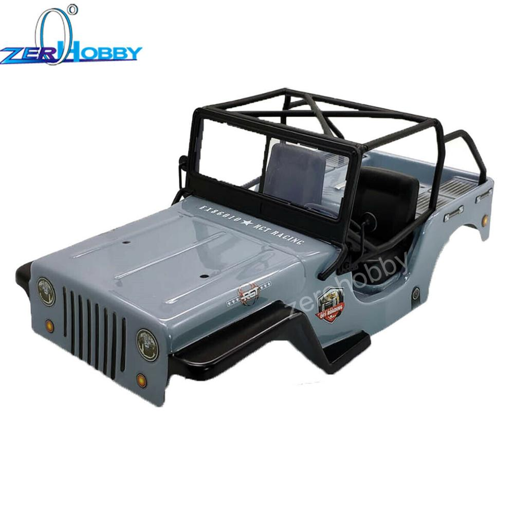 RGT 1/10 body shell 285mm Wheelbase P86220-1 For RGT 1/10 Off-road Crawler EX86010-CJ
