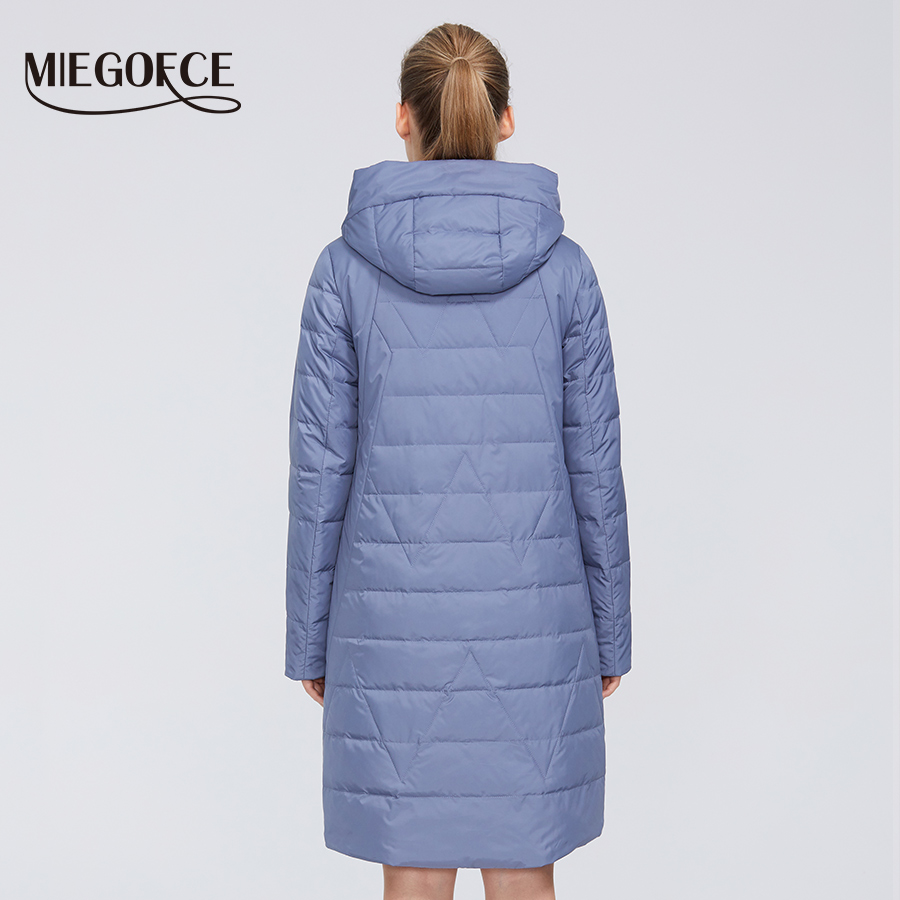MIEGOFCE 2020 New Design Spring Jacket Women's Coat Windproof Warm Female Parka European and American Female Model Women's Coat 4
