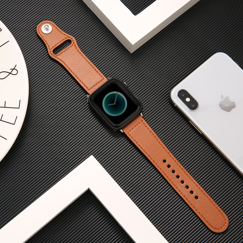 watch accessories for Apple watch band 42mm 38mm 44mm 40mm apple watch 5/4/3/2/1 iwatch strap Genuine Leather bracelet wristbelt