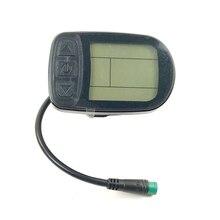 KT LCD5 светодиодный дисплей для электровелосипеда Kunteng KT Водонепроницаемая интеллектуальная панель управления дисплей Электрический велосипед 24 в 36 в 48 в