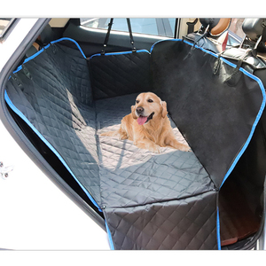 Image 1 - Car Rear Seat Pet Dog Seat Cushion Waterproof Anti dirty Anti catch Car Protection Pet Mat