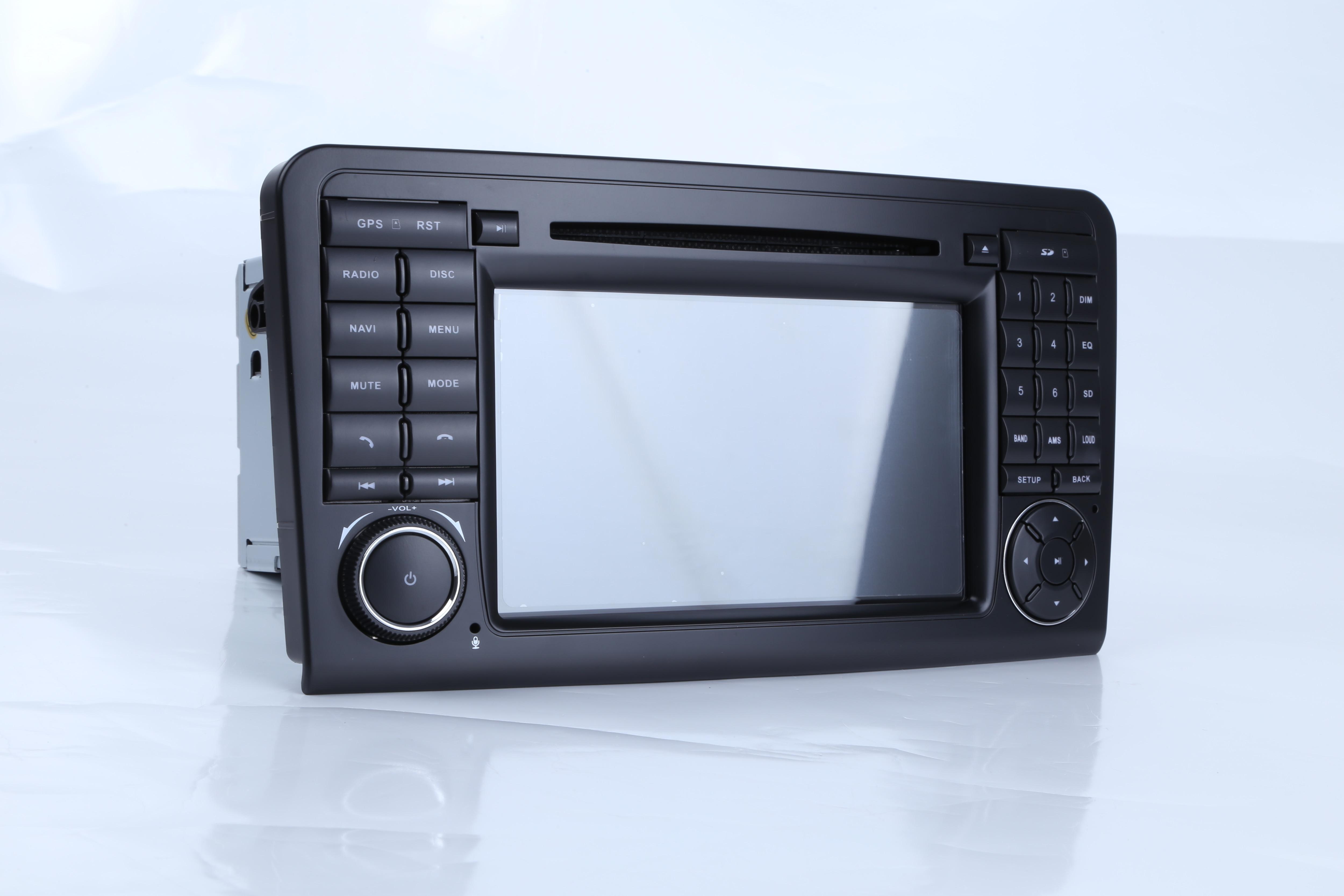 Reproductor estéreo de DVD de coche IPS para Mercedes/Benz GL ML clase W164 ML350 ML500 X164 GL320 con mapas BT GPS Radio - 6