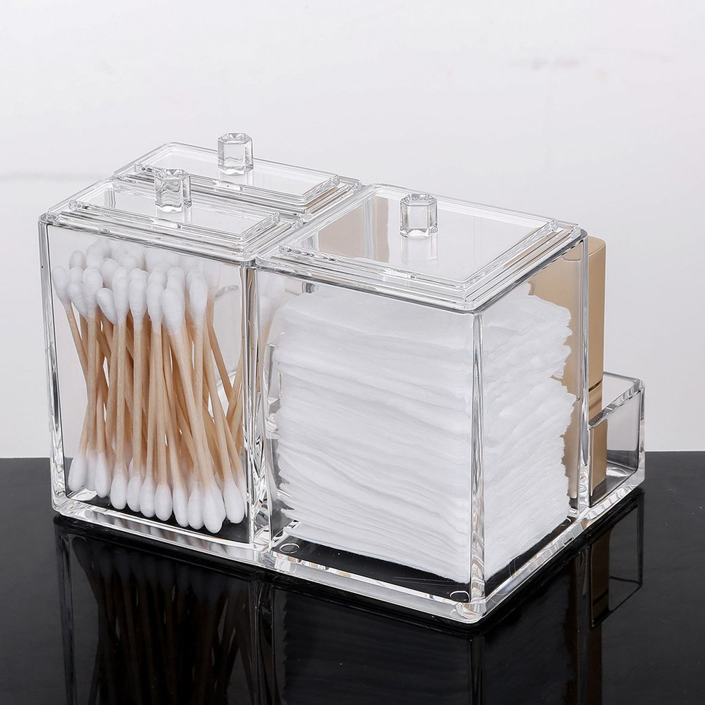 Acrylic Jewelry Cosmetic Storage Drawers Display Makeup Organizer Case Y-2013