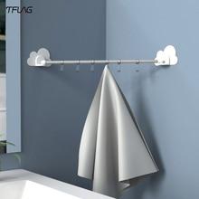 Bulut bağlantı kanca mutfak yatak odası banyo için alır traceless kanca şeffaf katlama olmadan delme bulut bağlantı kanca mutfak için